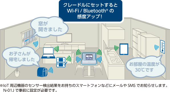 Wi-Fi STATION N-01J_自宅利用